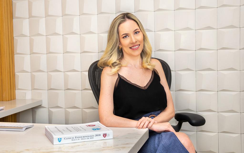 Dra. Ana Luiza Cardoso, médica especialista em endocrinologia